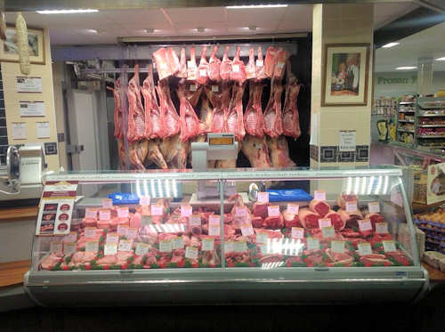 BritishButcher - Master Butcher Lee Spencer - butcher shop, westone super mare, machinery, steaks, sausages, burgers